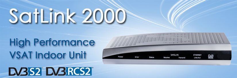 SatLink 2000 VSAT Indoor Unit